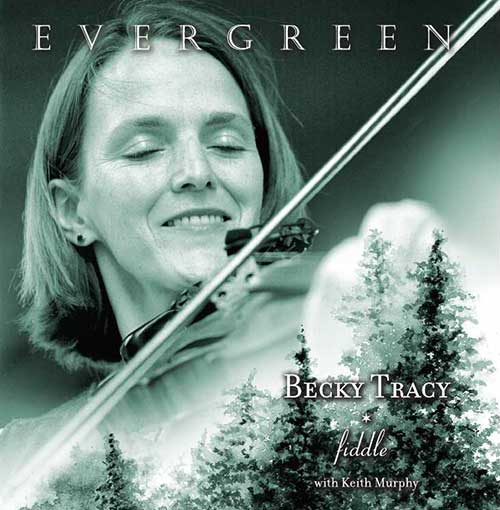 Becky Tracy: Evergreen (cd cover)